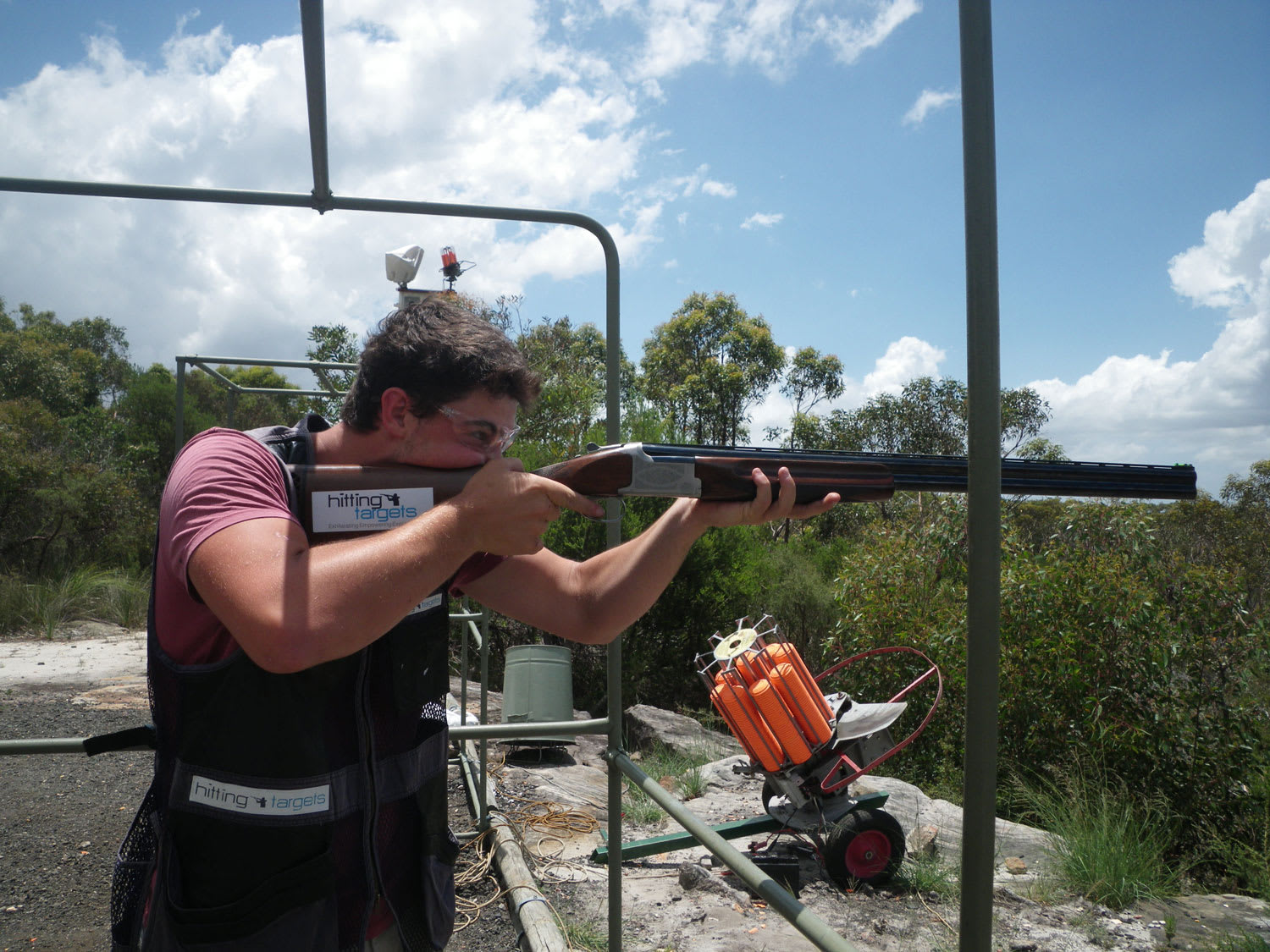 Clay Target Shooting with Live Ammo - Sydney - BOOK NOW