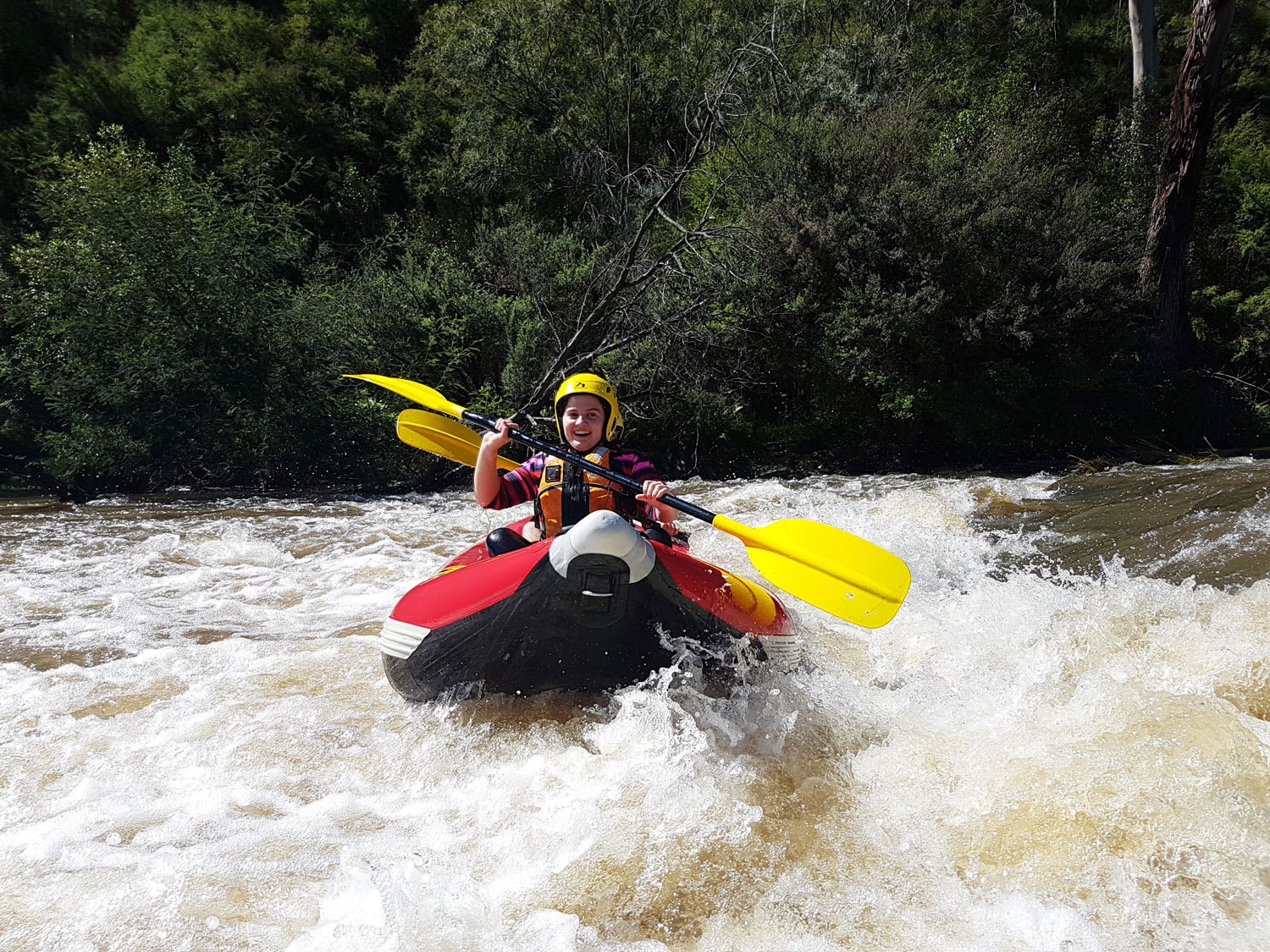 Sports Rafting, Yarra River 3 Hours - Melbourne - LAST MINUTE SPECIAL