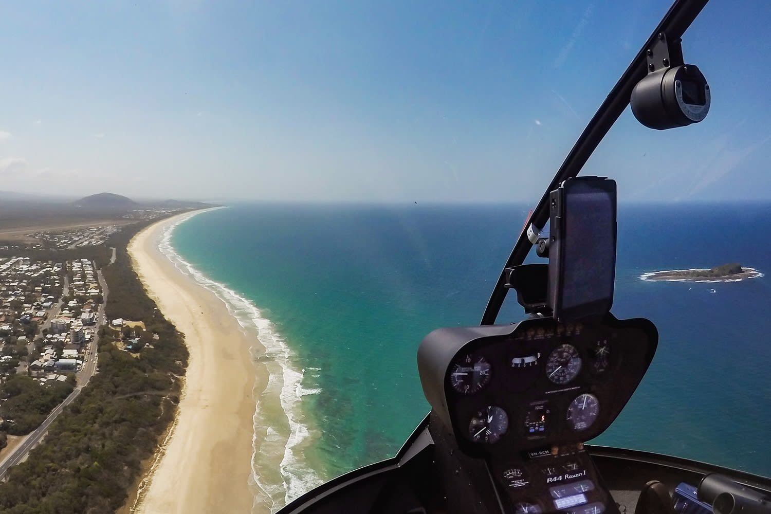 Sunshine Coast Helicopter Ride