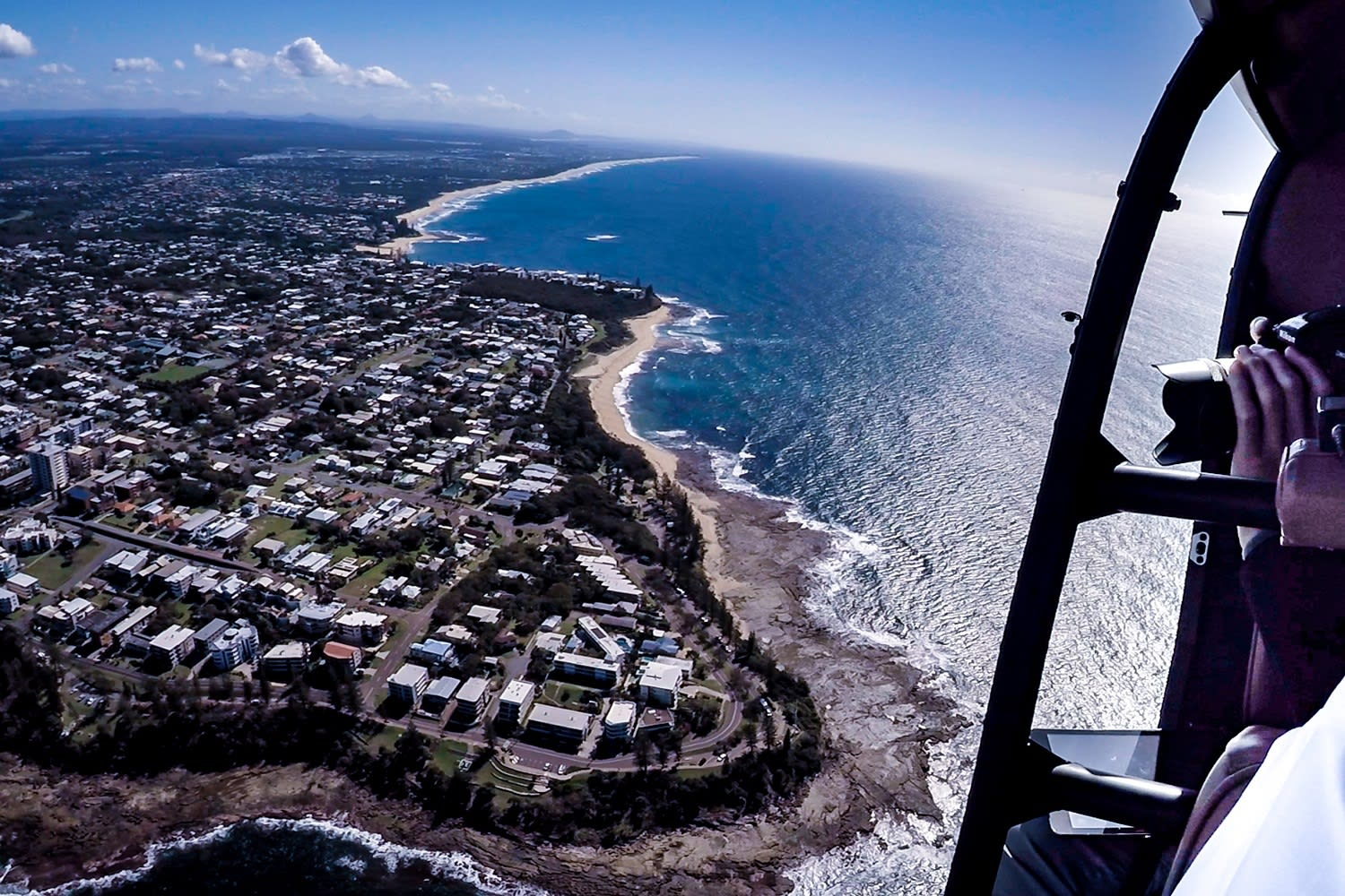 Sunshine Coast Helicopter Ride, Caloundra  - For 2