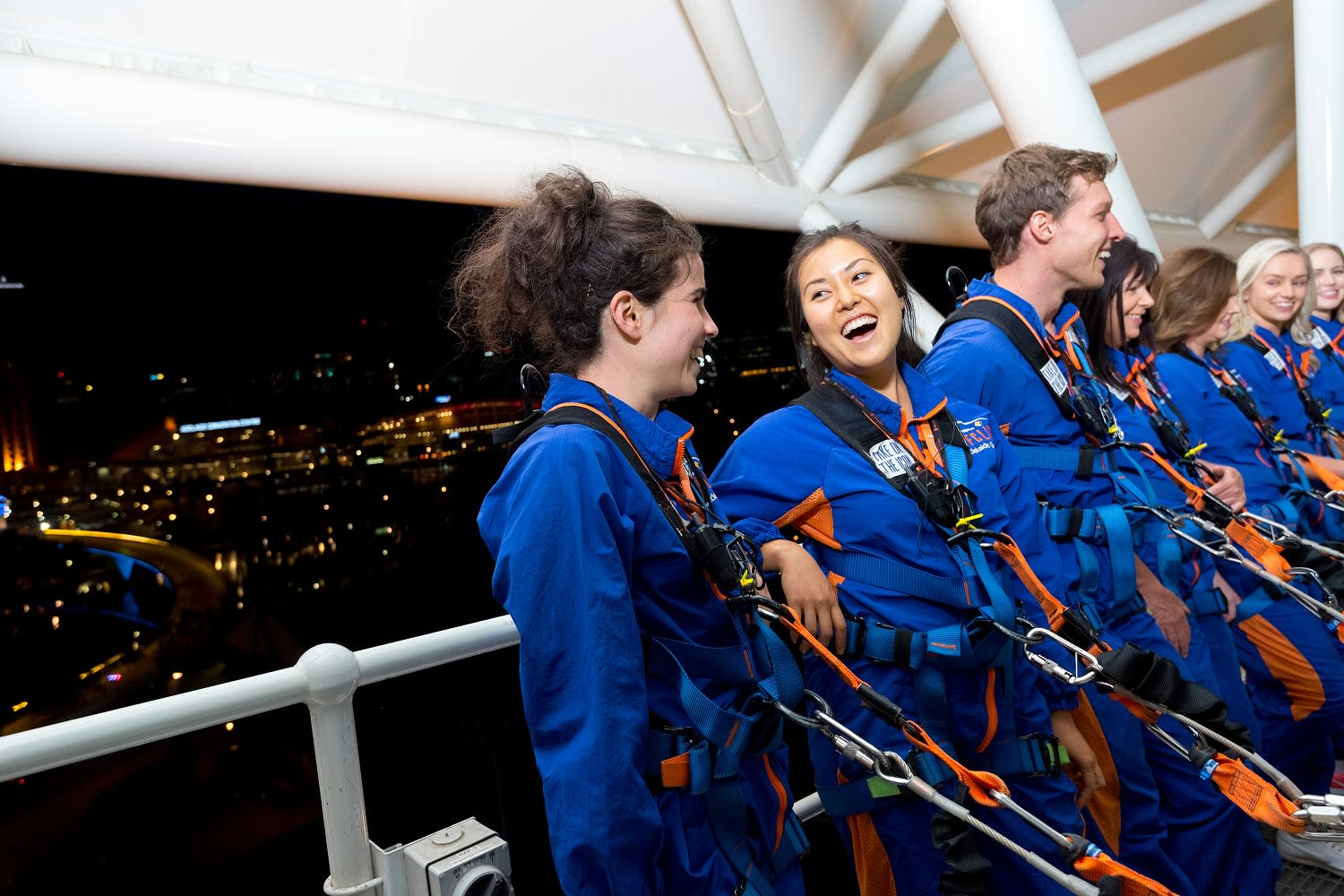 Adelaide Oval Roof Climb - Night