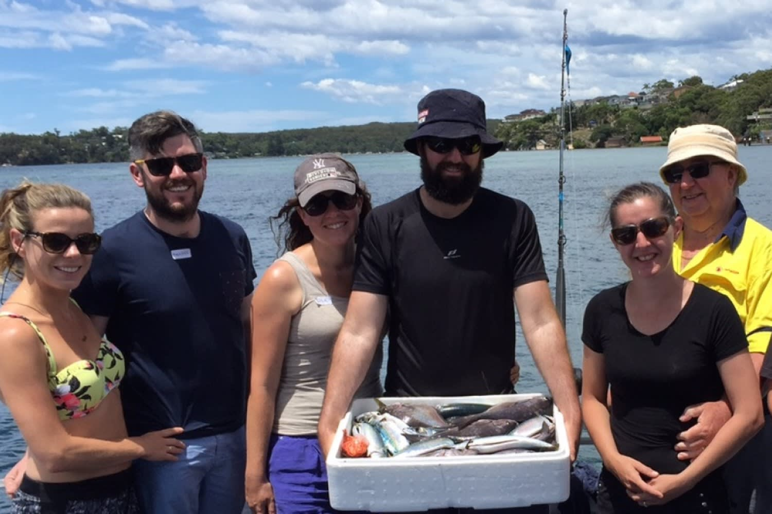 Port Hacking Fishing Trip including Breakfast - Half Day