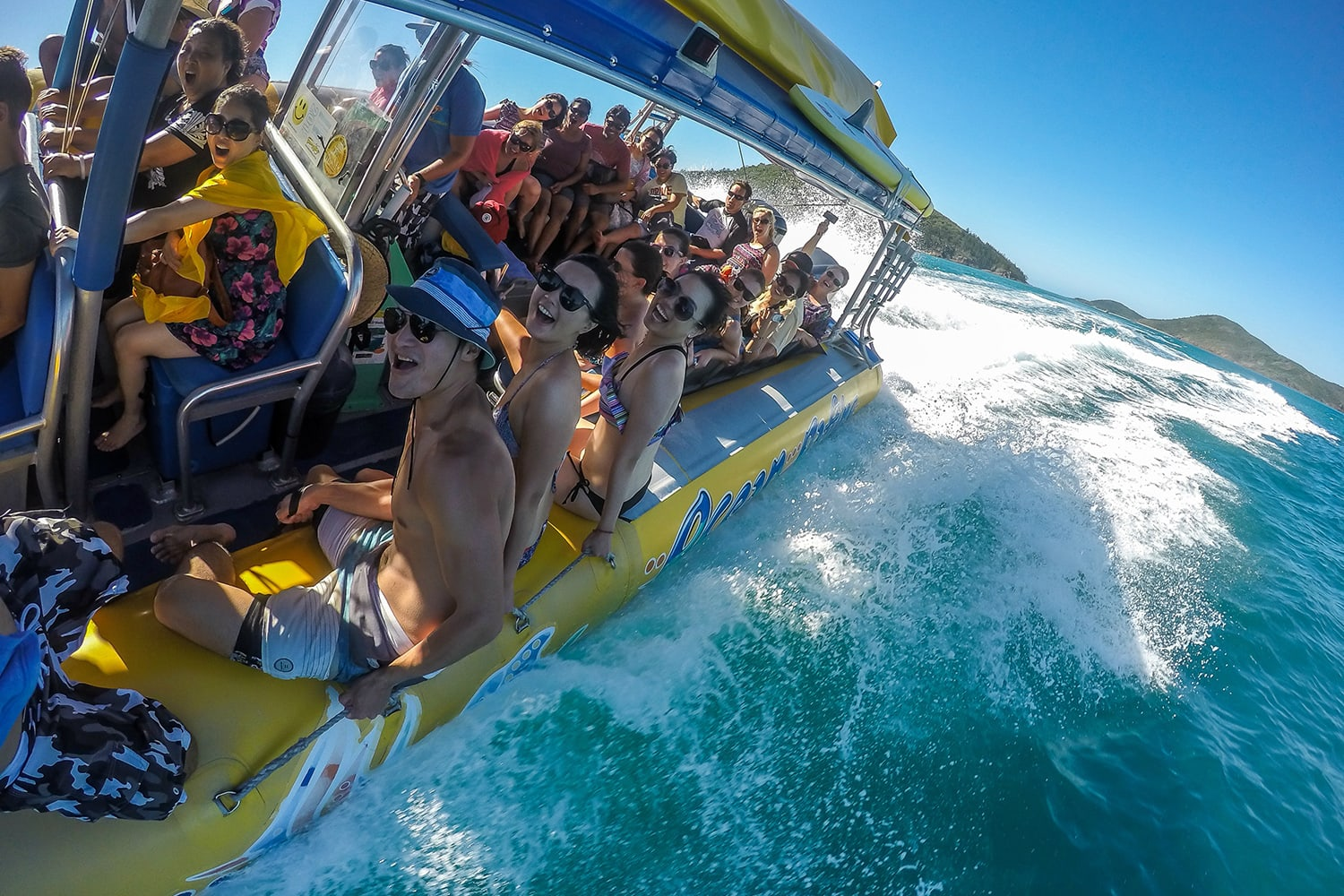 Whitsundays Walking and Swimming Full Day Island Ocean Rafting Adventure