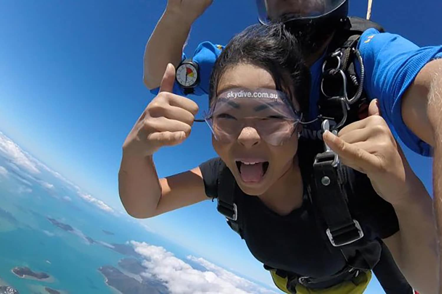 Tandem Skydive on Whitehaven Beach - up to 14,000 ft