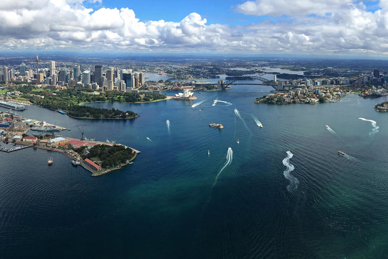 20 Minute Helicopter Flight Over Sydney and Beaches