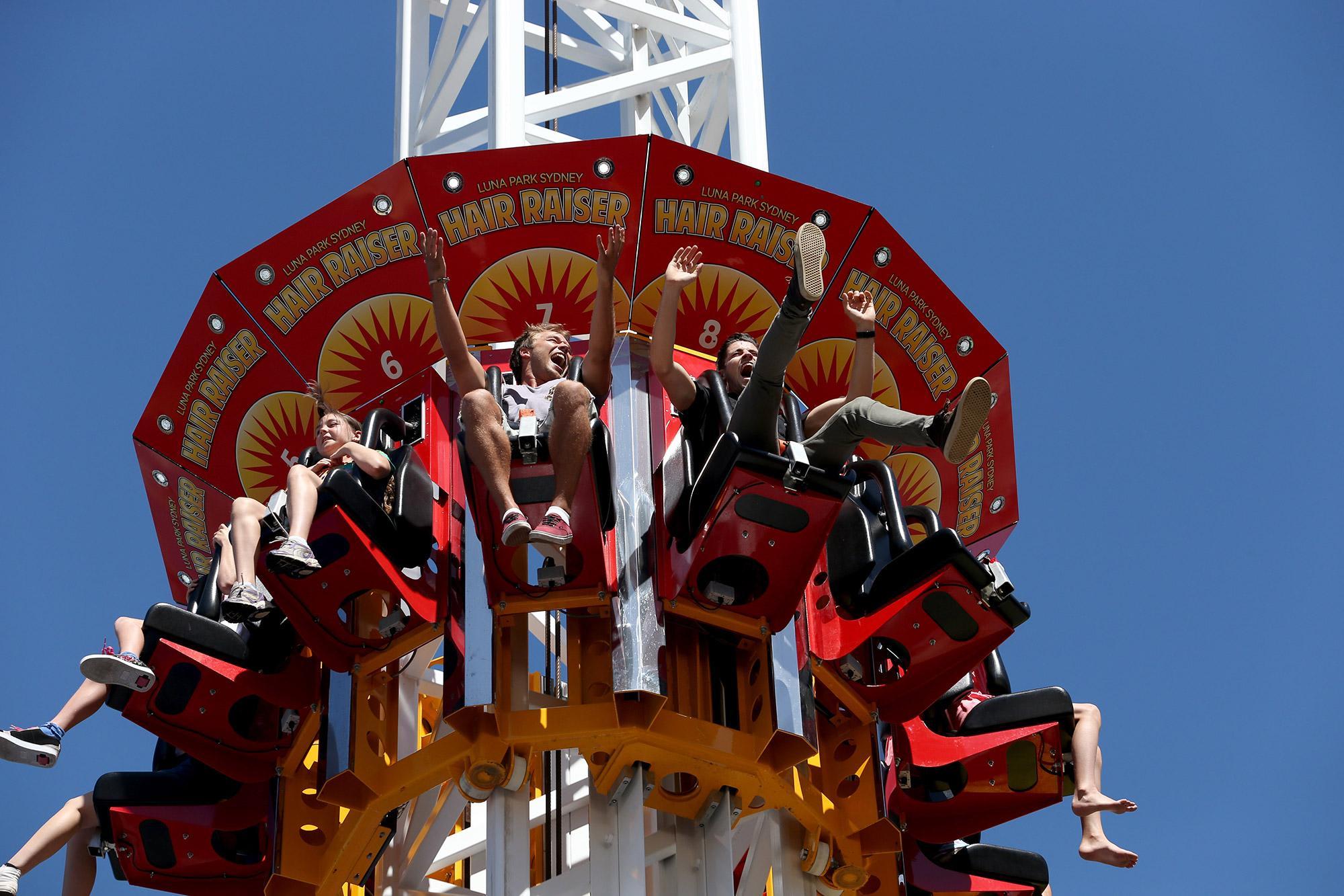 Luna Park Unlimited Rides Pass - 130cm+ - Adrenaline  Luna