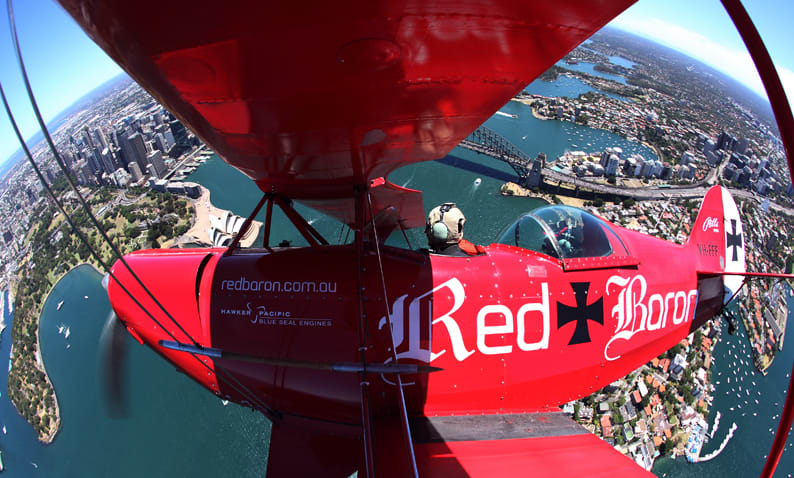 Scenic Flight, 50 Minute Open Cockpit Airplane Tour - Sydney Harbour