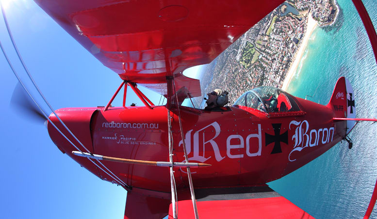 Aerobatic & Scenic Flight Combo, 70-minute Pitts Special - Sydney