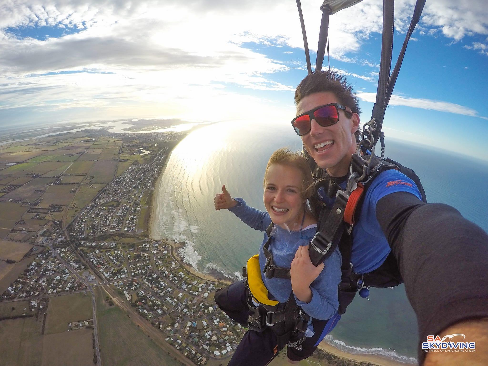Skydiving Goolwa Basham Beach (Adelaide) - Tandem Skydive 12,000ft