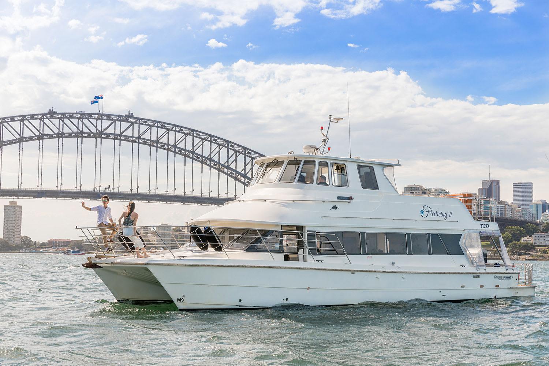Vivid Sydney Catamaran Harbour Cruise - 90 Minutes