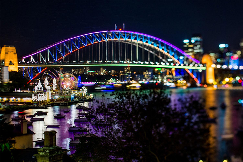 Vivid Sydney BYO Catamaran Harbour Cruise with Snacks