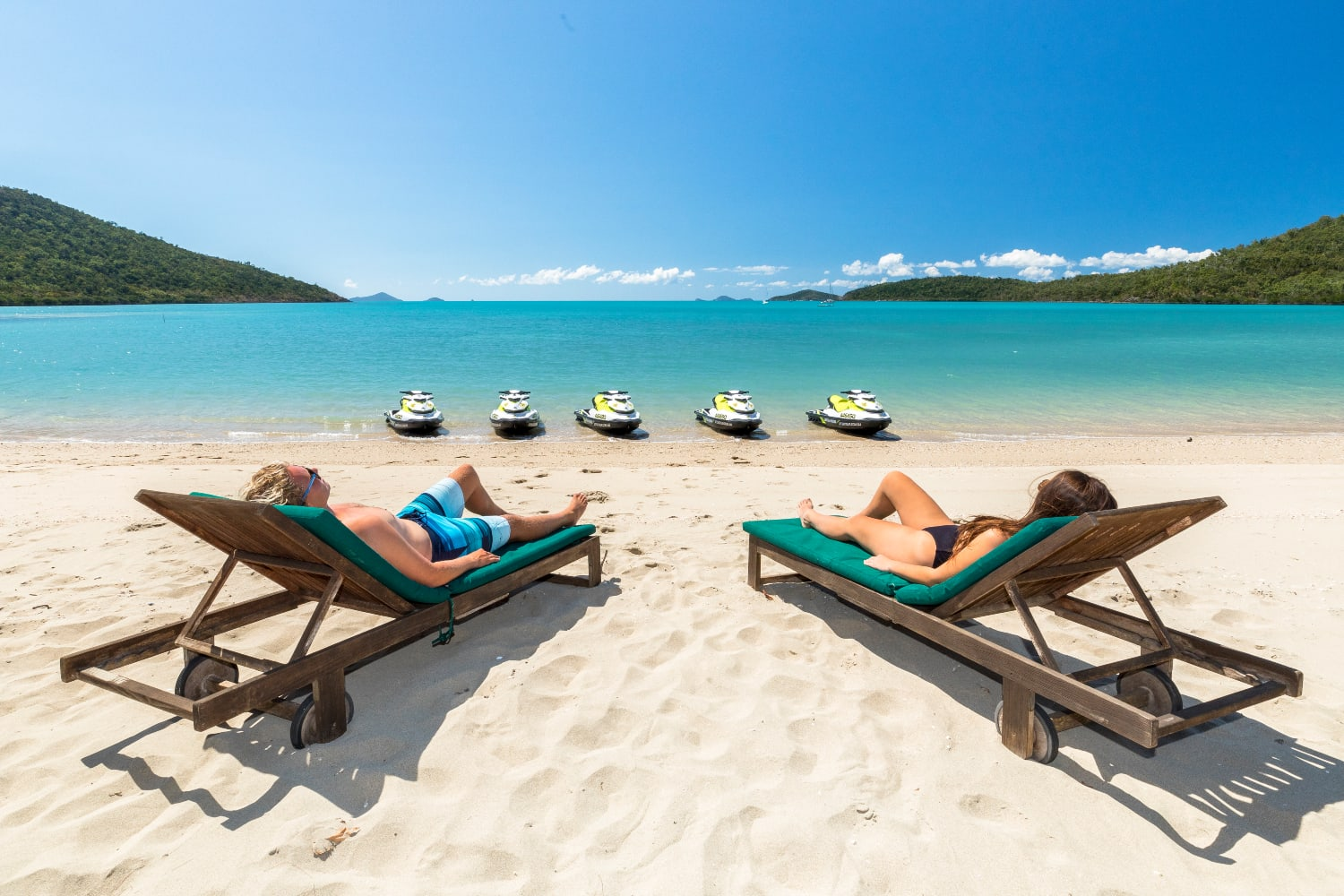 Jet Ski To Paradise Tour with Brunch one jetski for 2 - Airlie Beach, Whitsundays