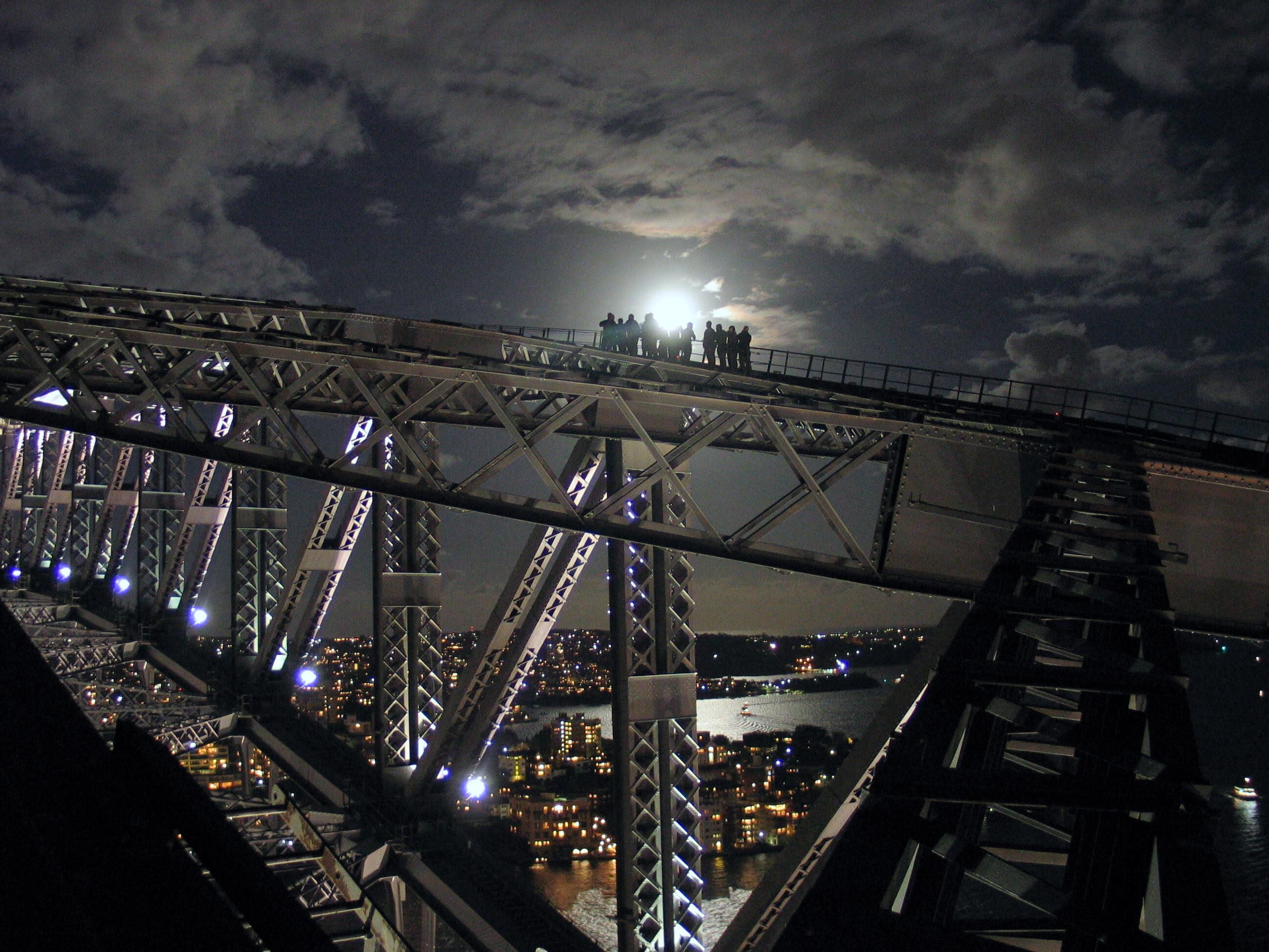 Sydney Harbour Bridge Climb - Night