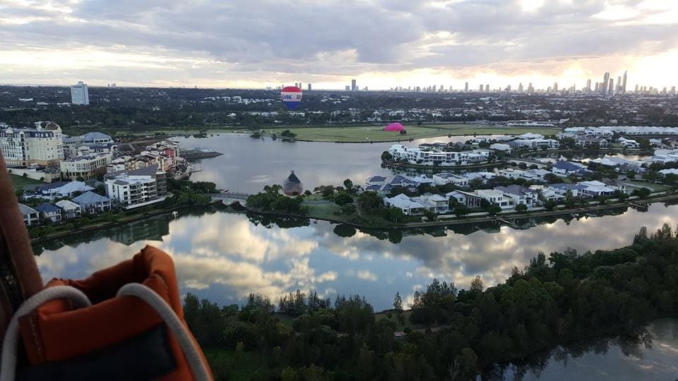 Hot Air Balloon Ride, 30 Minutes - Gold Coast