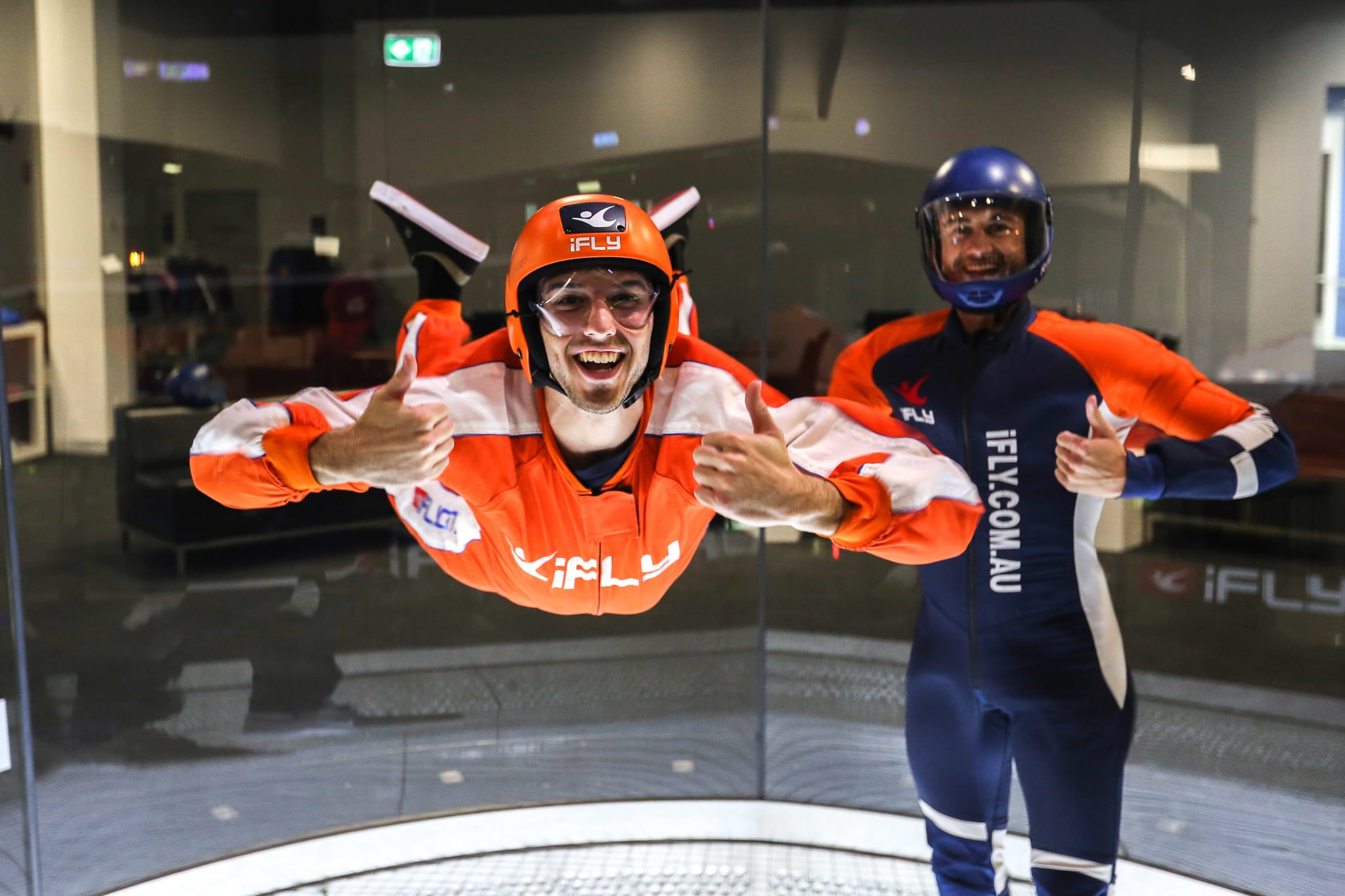 Indoor Skydiving Sydney, iFLY Basic Package (2 Flights) - BUY ONE GET ONE FREE - Weekday