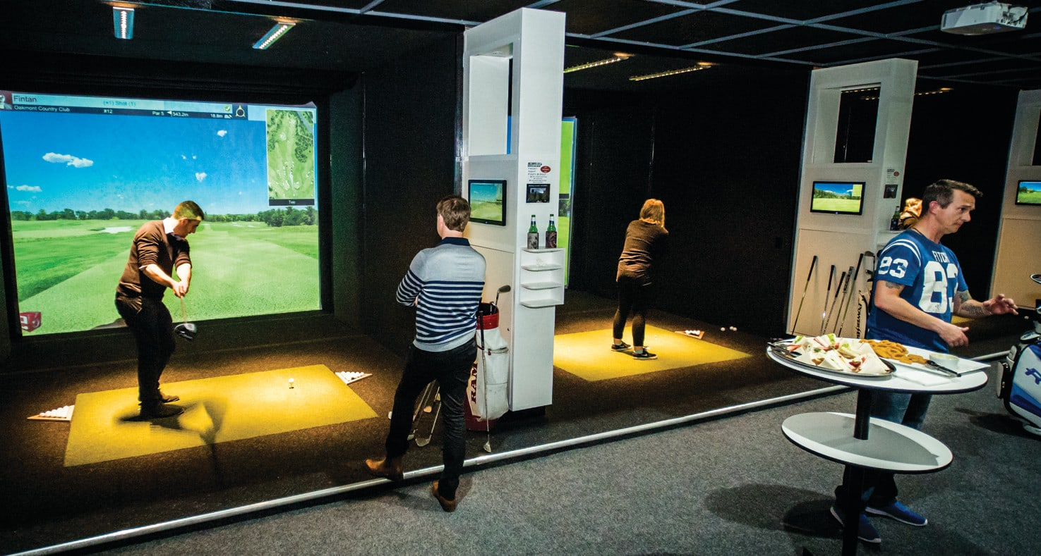 Realistic Golf Simulator For 4, 3 Hours - Penrith
