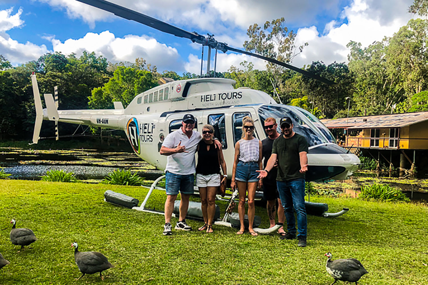 Helicopter Pub Tour in the Atherton Tablelands - 5 Hours