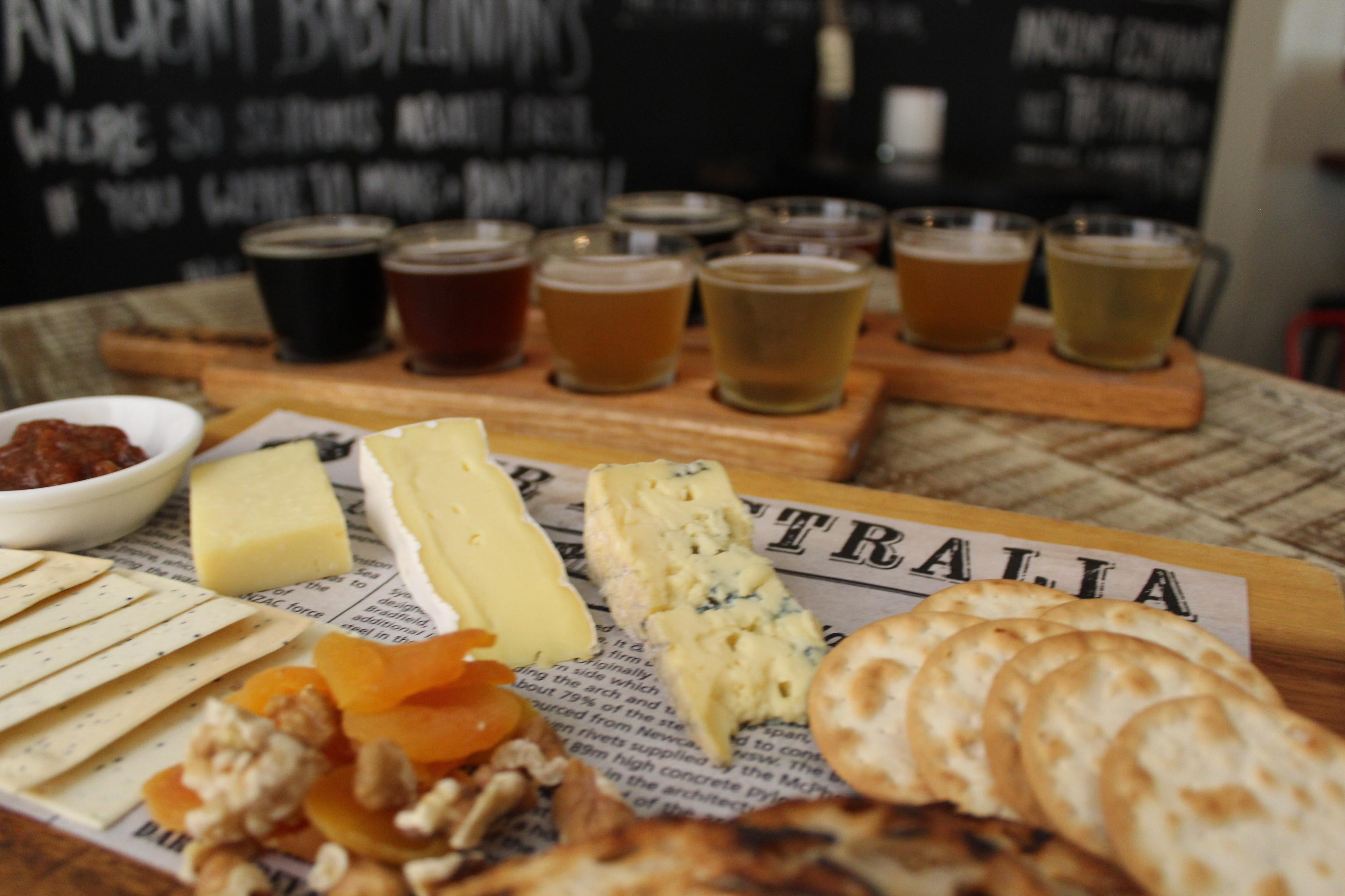 Beer and Cheese Tasting For 2 - Sydney