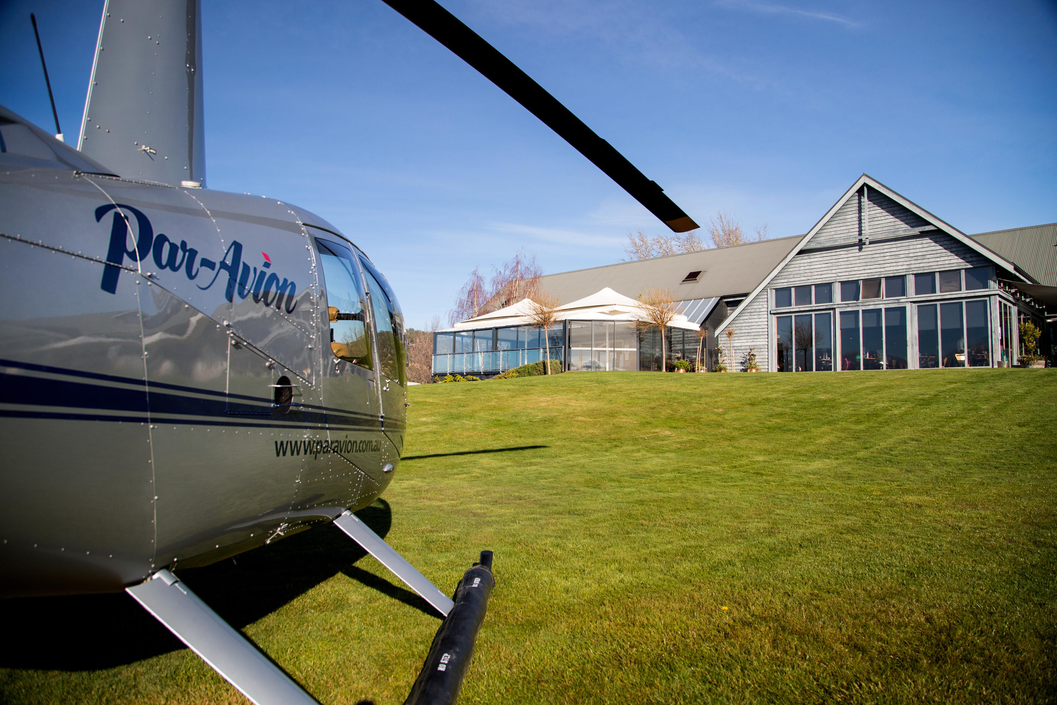 Scenic Helicopter Flight and Lunch at Frogmore Creek Wines - Hobart