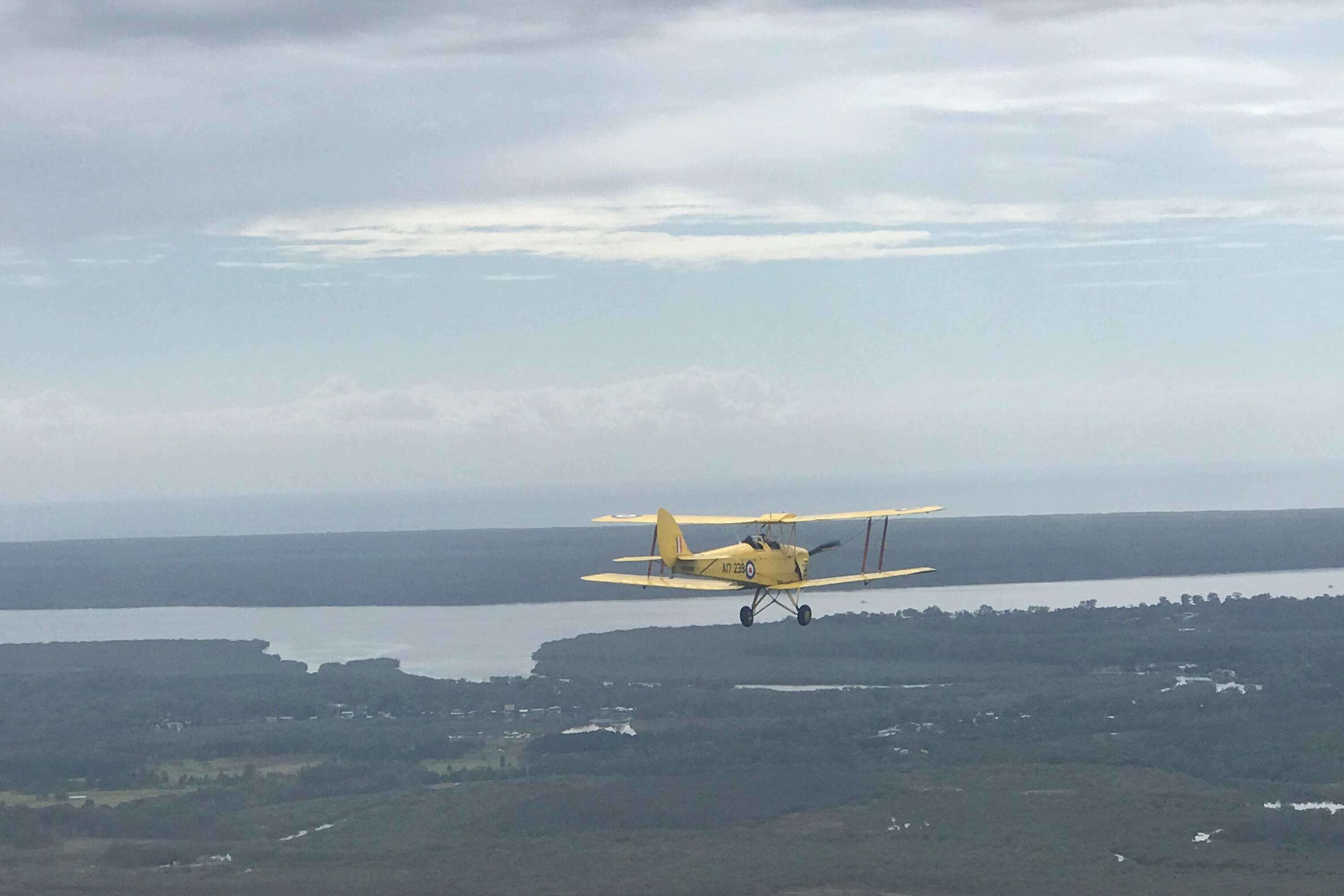 Tiger Moth Joy Flight - 45 Minutes, Brisbane