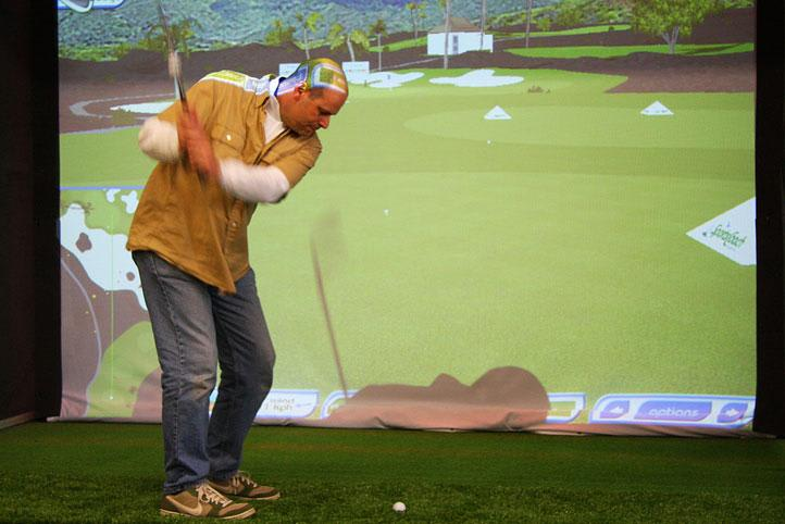 Golf Simulator, Melbourne - 30 Minute Lesson and 18 Holes of Golf