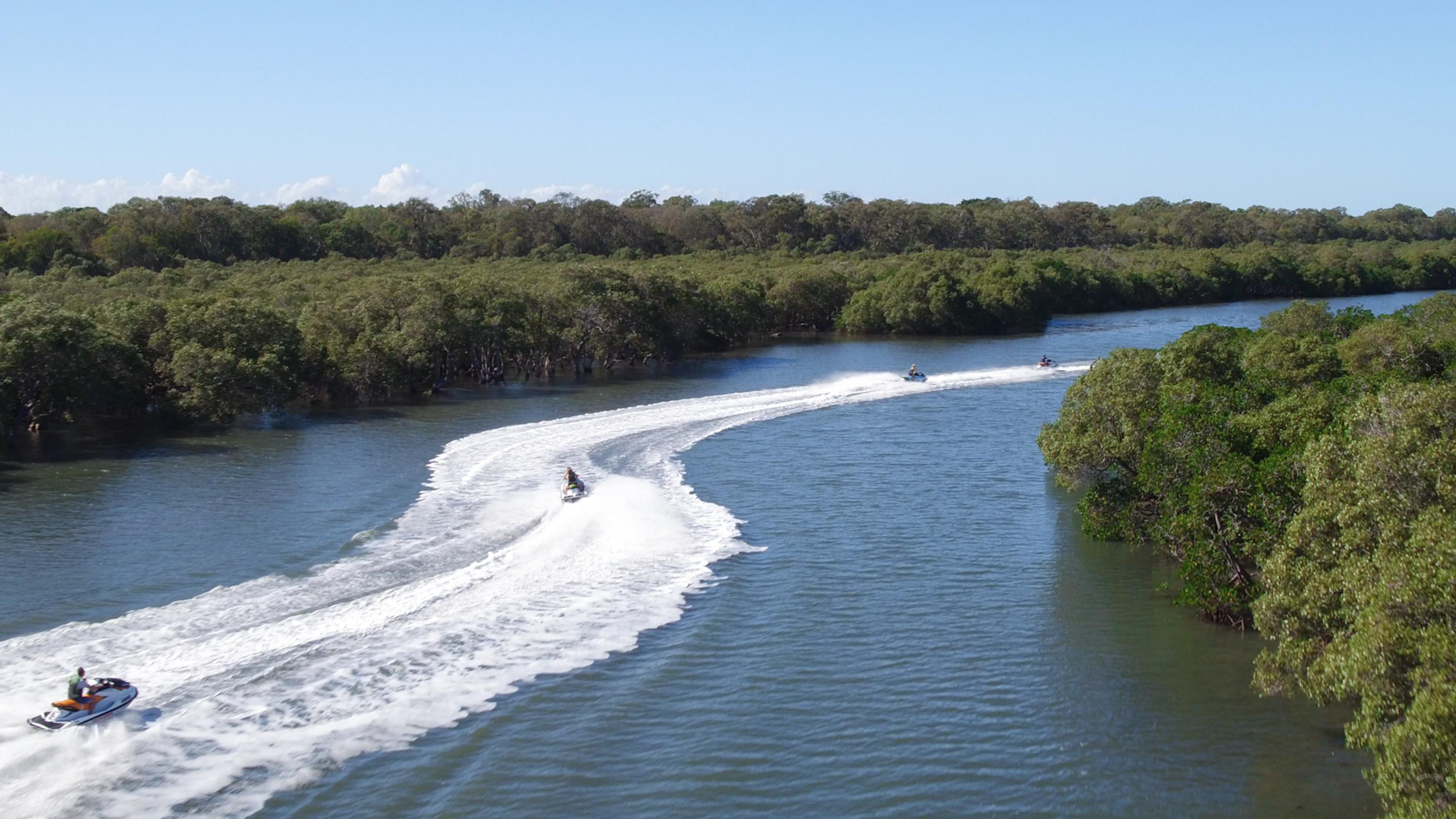 Ultimate Jet Ski Safari With a Passenger, Gold Coast - 2.5 Hours
