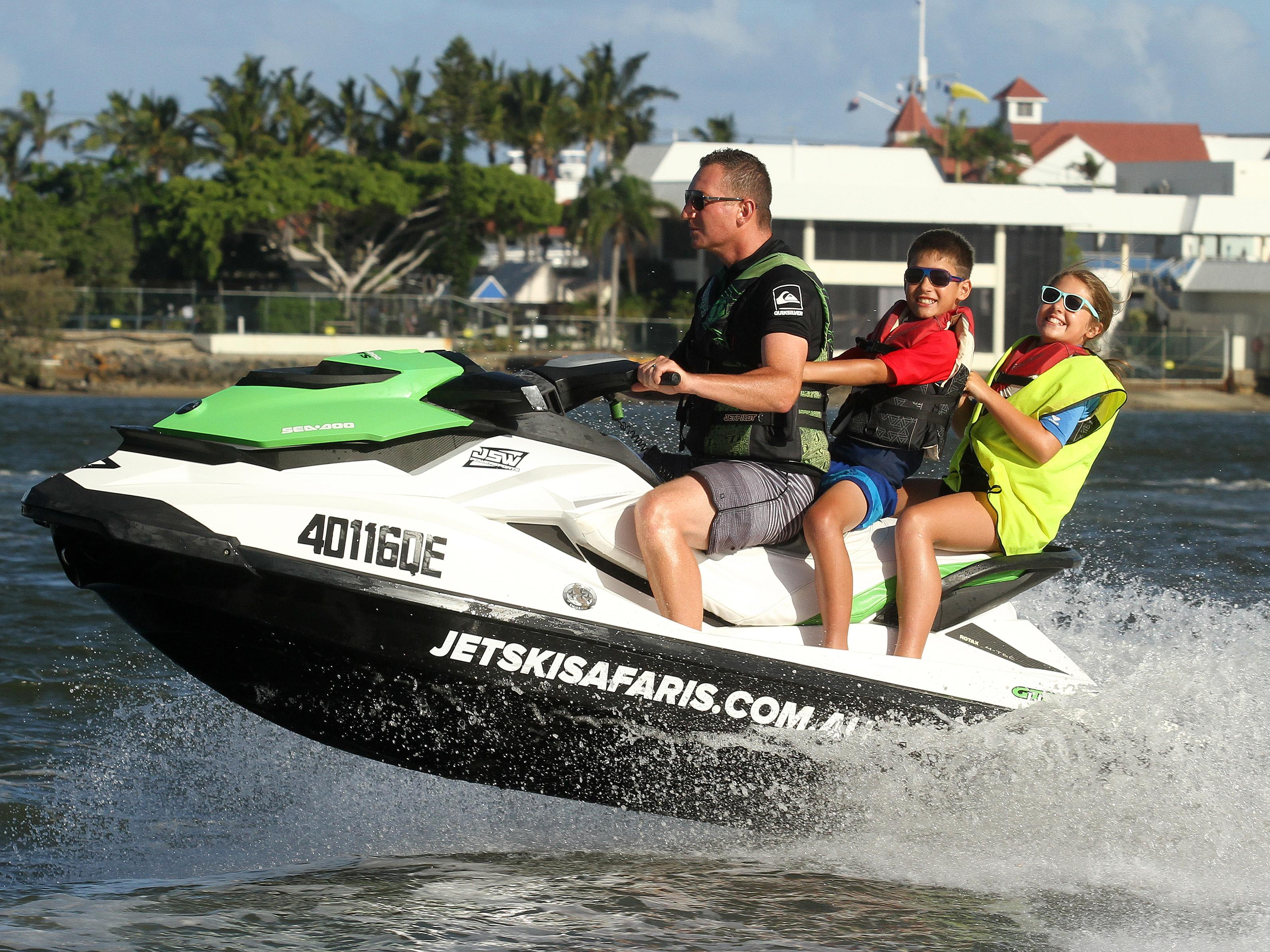 Jet Ski Safari, Gold Coast - 60 Minutes - For 2
