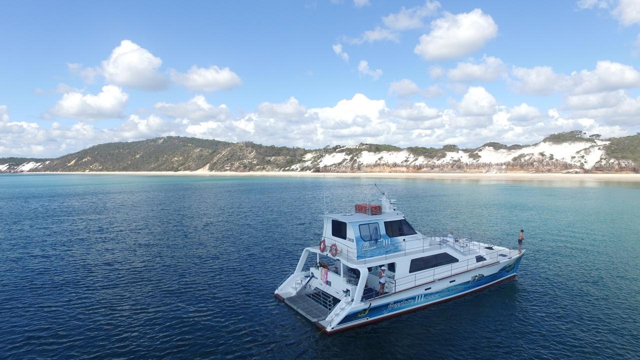 Hervey Bay Whale Watching Cruise, Lunch and Snacks  - For 2