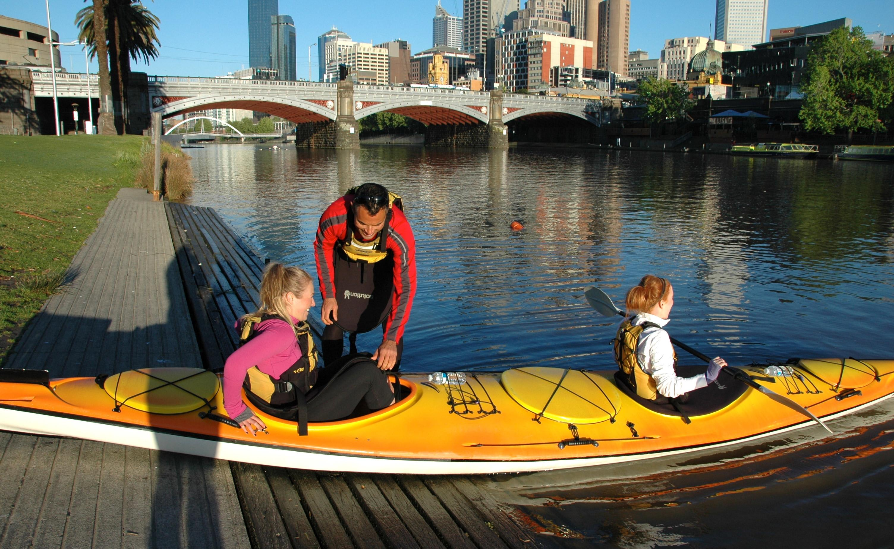 Melbourne City Kayak Tour, Yarra River