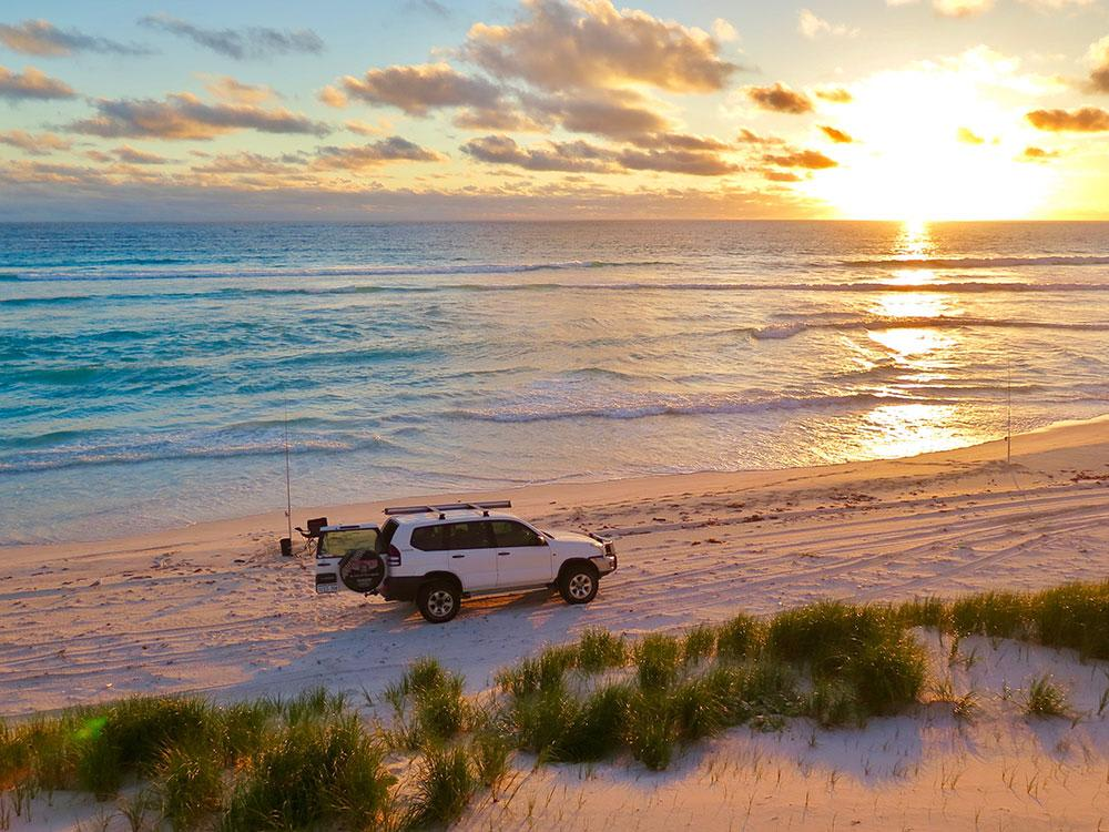 4WD Beach Fishing Safari, Perth