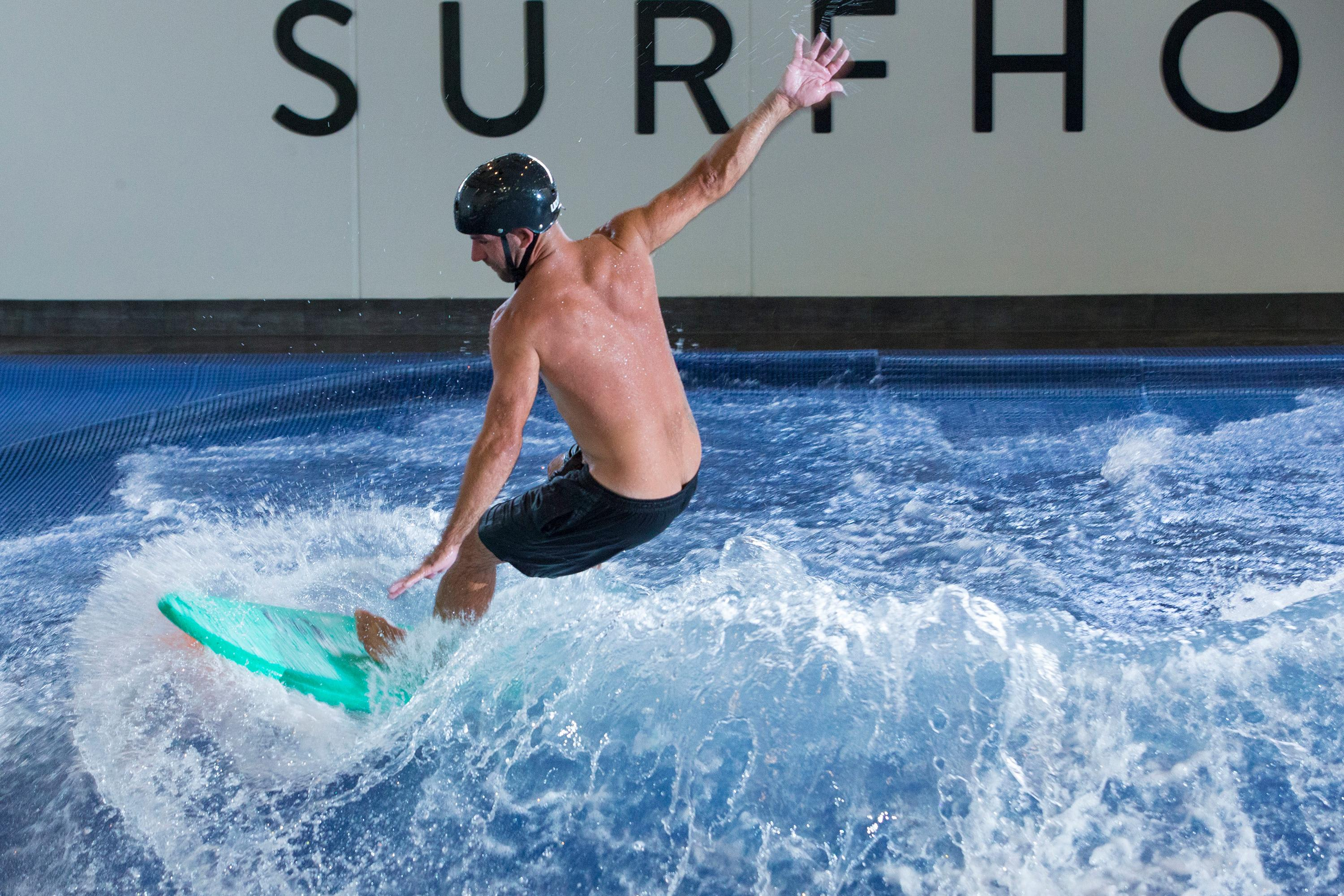 Indoor Surfing Session, Perth
