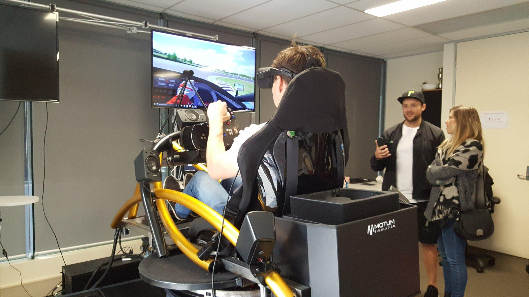 Virtual Reality Racing Experience - 30 Minute Simulator