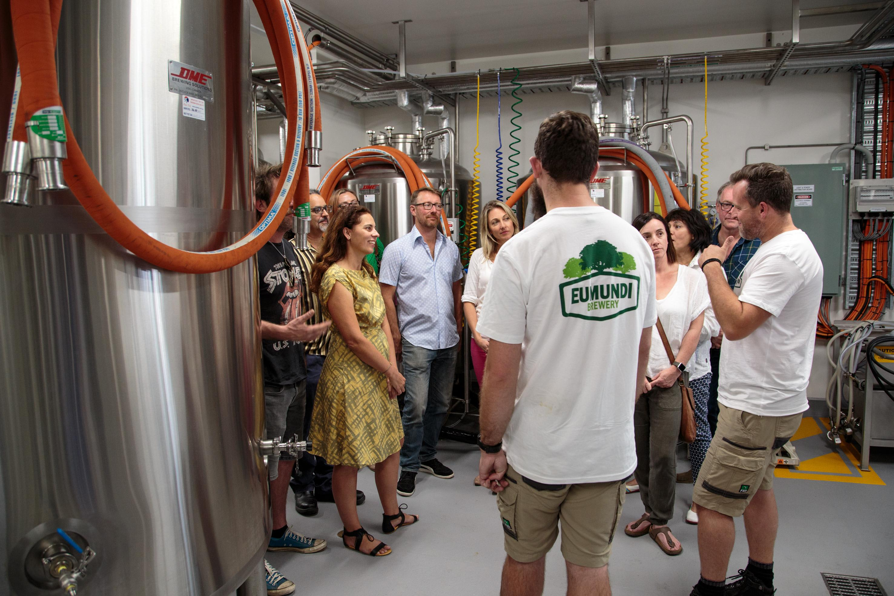 Noosa Brewery Tour with Tastings and Lunch - 5 Hours
