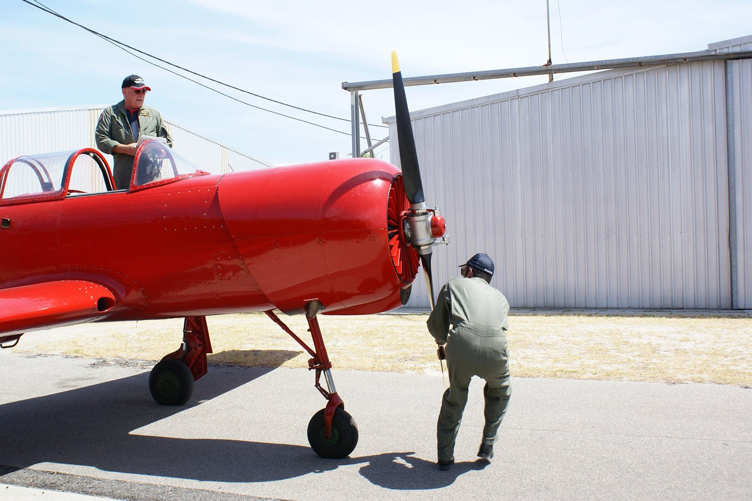60 Minute Warbird Adventure Flight, Jandakot