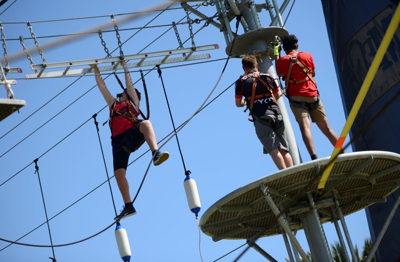 Mega Adventure Aerial Obstacle Park Admission, Adelaide