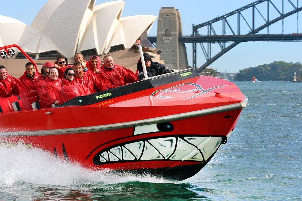 Jet Boat Circular Quay 30 Mins