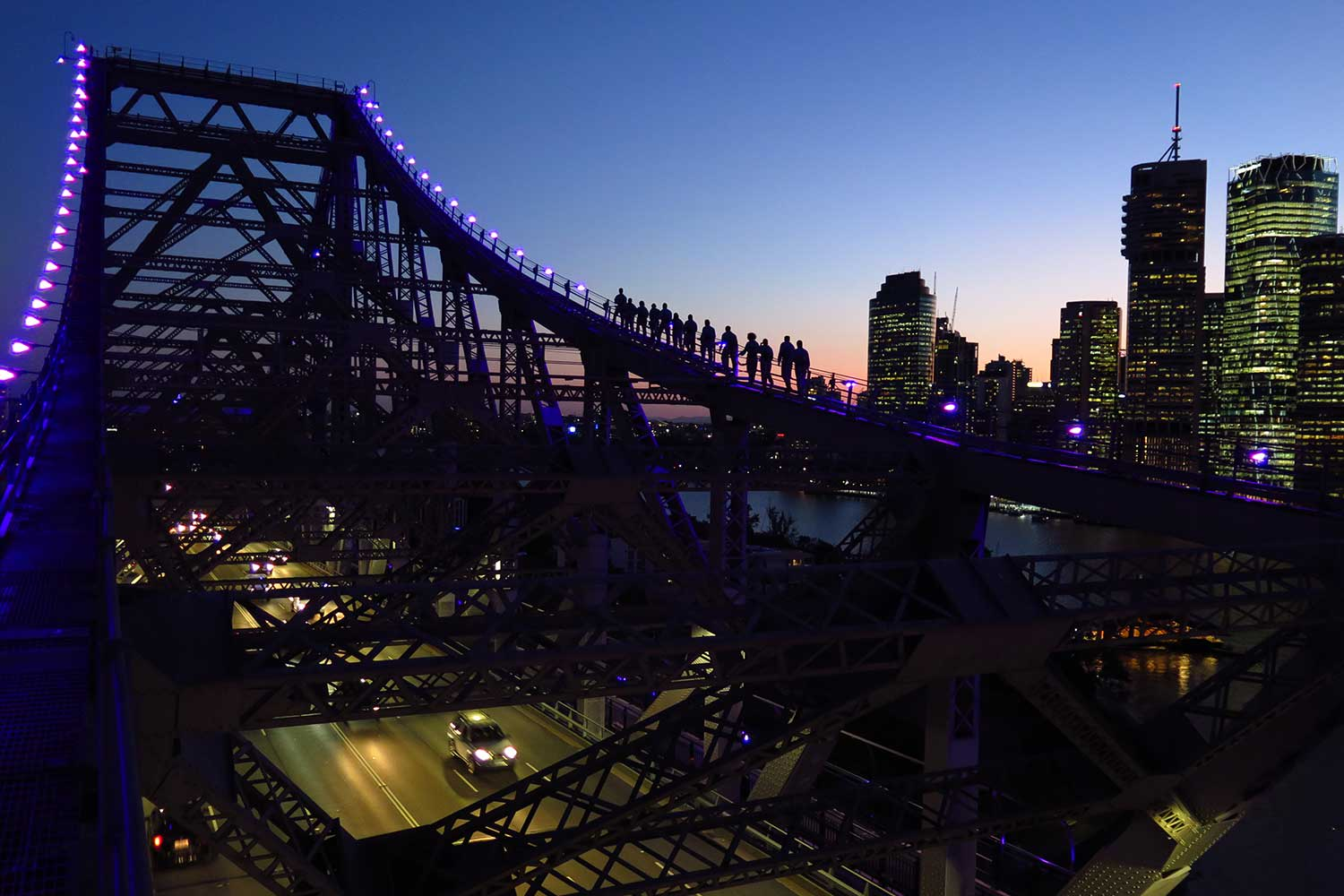 Story Bridge Adventure Climb, Twilight Climb - Brisbane INCLUDES PHOTO