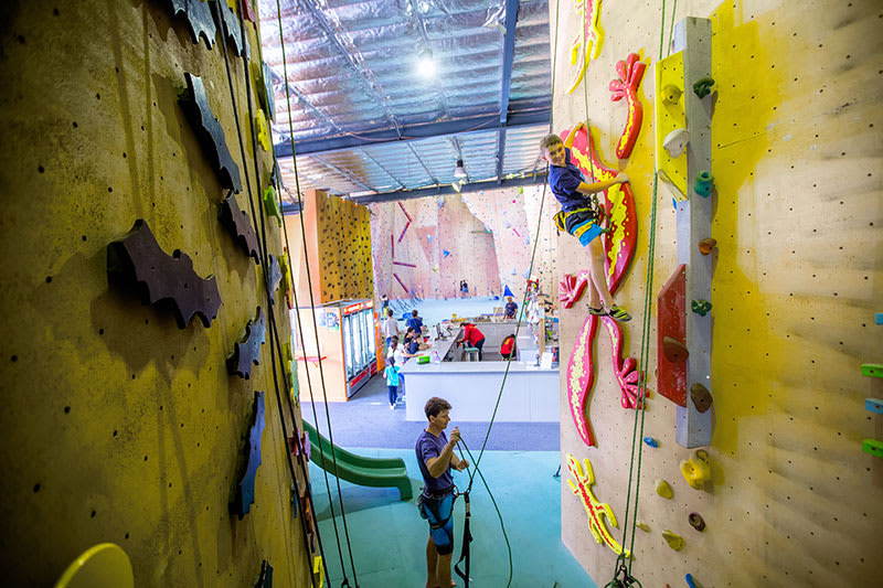 Indoor Rock Climbing Gym Admission - Villawood, Sydney