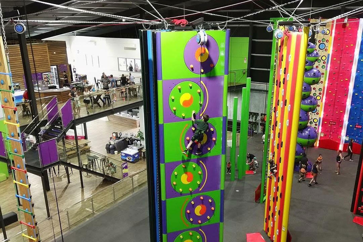 Indoor Rock Climbing and VR experience