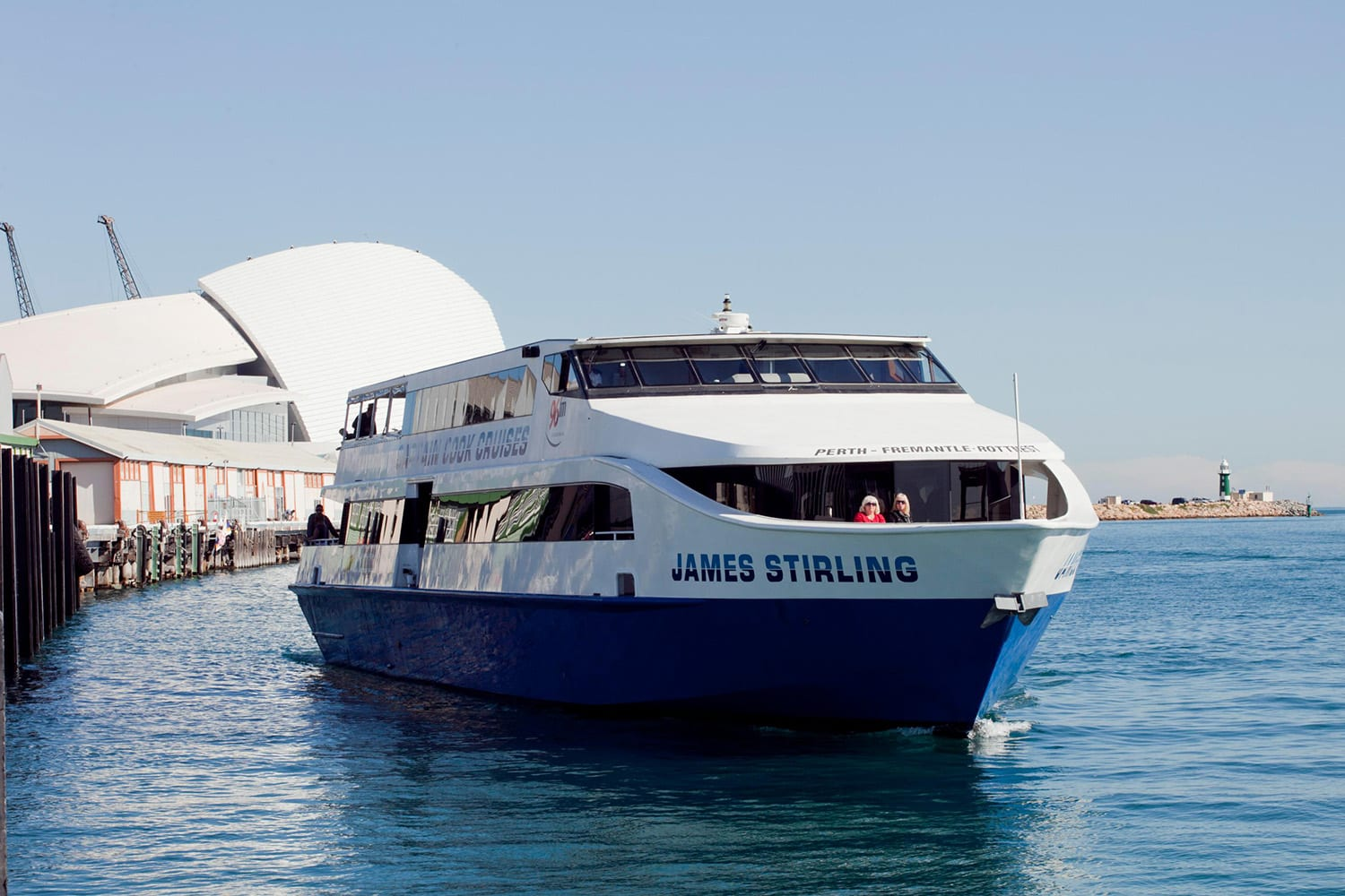 Lunch Cruise and Tram Tour - Fremantle