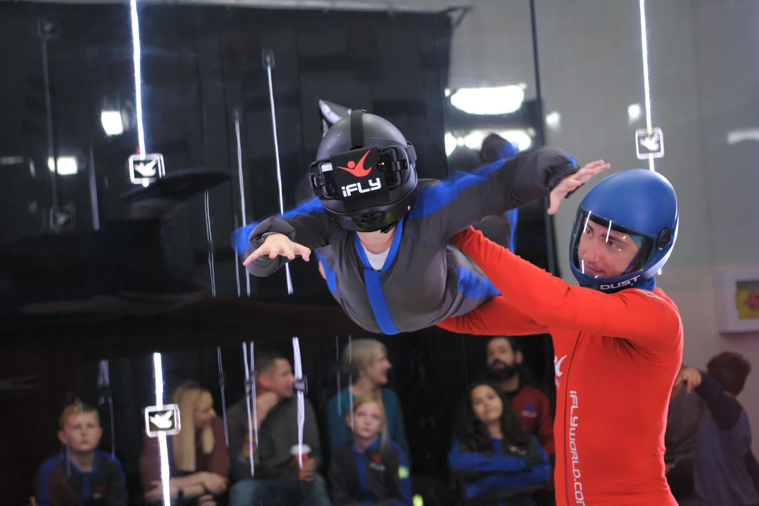 Virtual Reality Indoor Skydive - 3 Flights - Melbourne