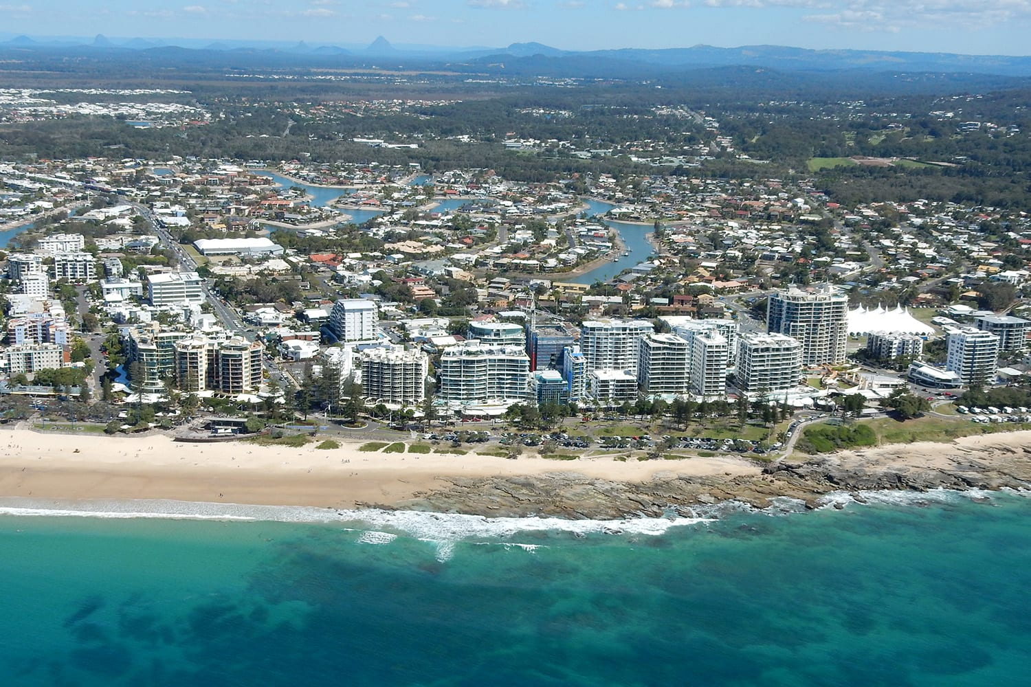 Scenic Helicopter Flight over the Sunshine Coast, 18 Minutes