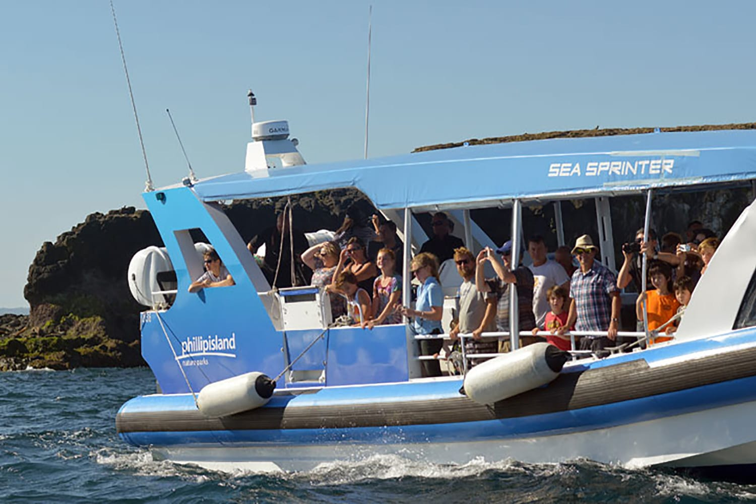 Phillip Island Adventure Boat Tour - 90 Minutes