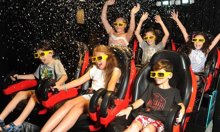 9D Action Cinema Theme Park-style Experience - Darling Harbour