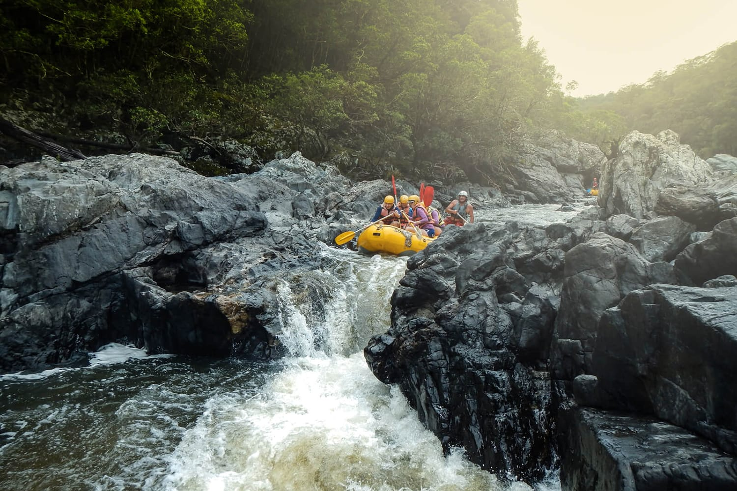 Whitewater Rafting Day Trip, Including Transfers - Upper Nymboida River