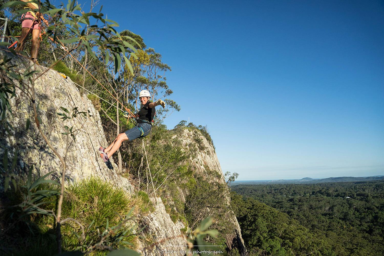 Saturday Rock Climbing Session - Mt Tinbeerwah, Noosa