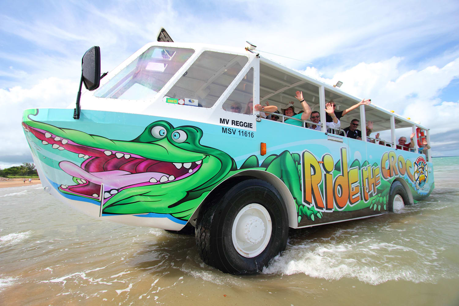 Aquaduck Amphibious Tour, 1 Hour - Airlie Beach - for 2