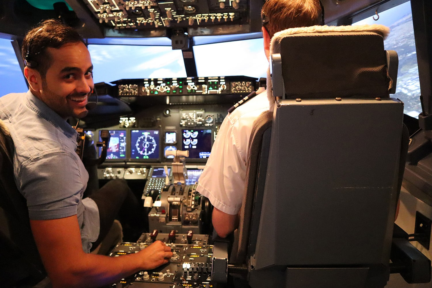 Boeing 737 Flight Simulator Parafield Airport, Adelaide - 1.5 Hour Shared Flight For Up To 3!