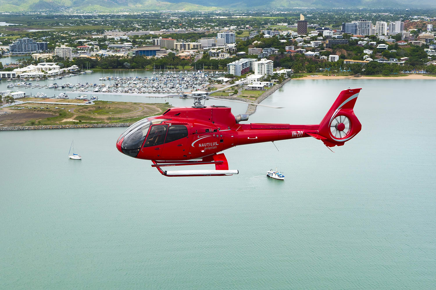 Scenic Helicopter Flight, 30 Minutes - Townsville