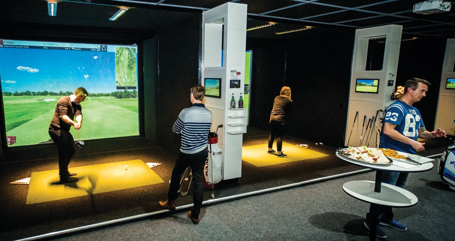 Realistic Golf Simulator, 3 Hours - Traralgon - For 4